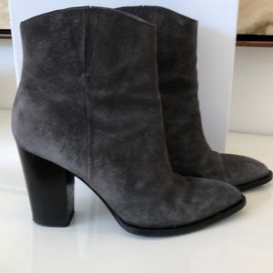Grey Booties Booties by VINCE